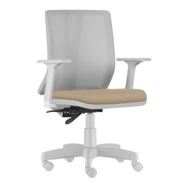Cadeira Addit Diretor Cinza